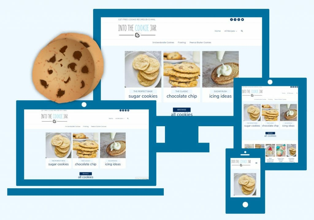 Into The Cookie Jar e-mail sign-up