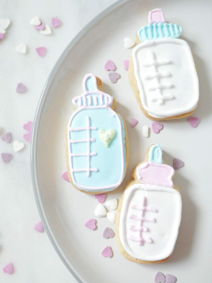 Baby Bottle Cookies