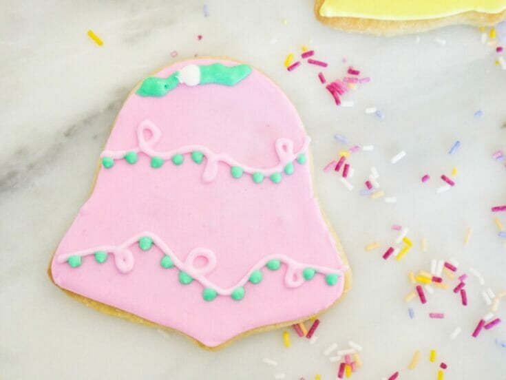 Decorated Bell Cookies Recipe