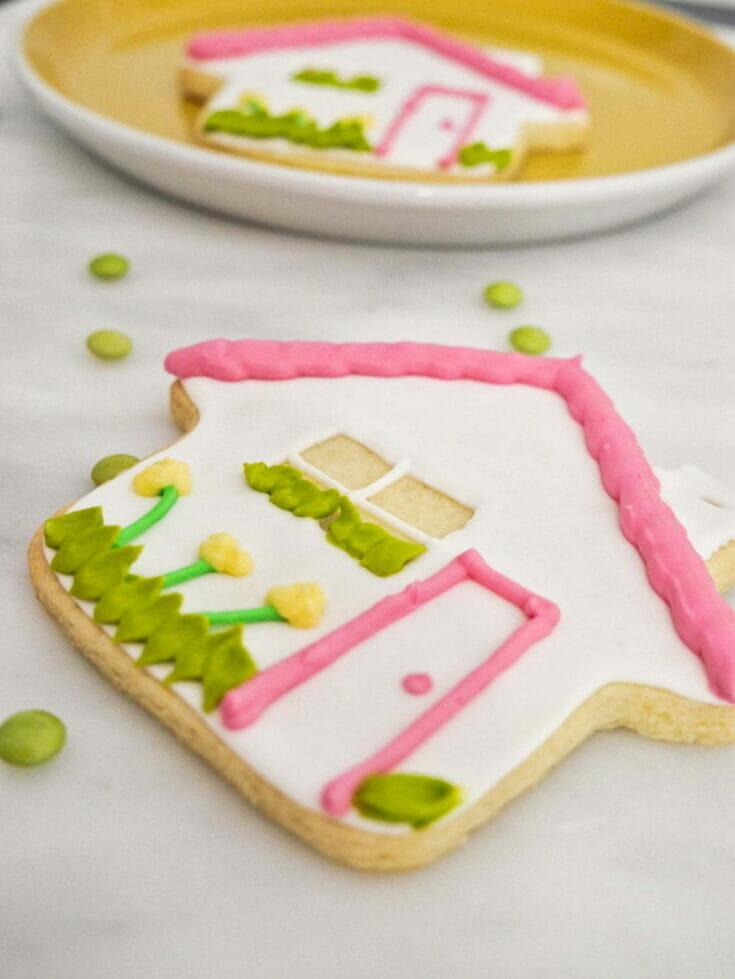 Decorated Housewarming Cookies