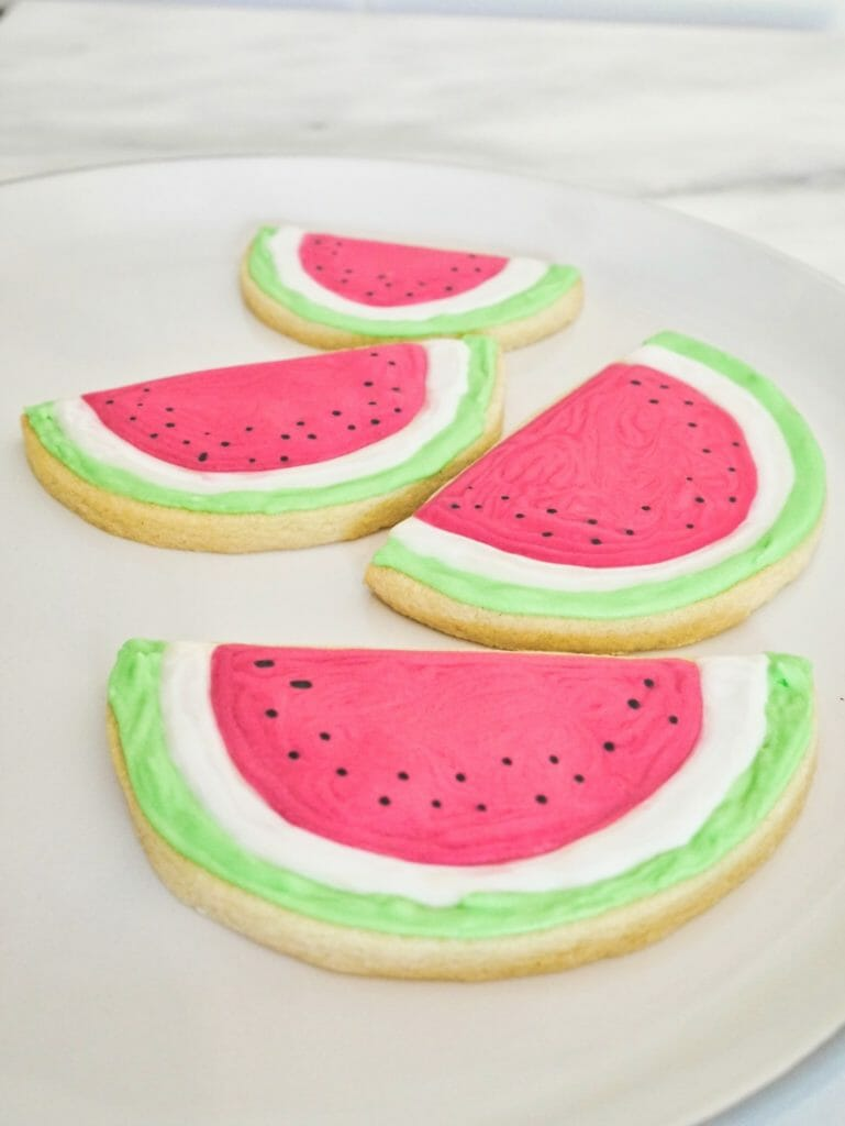 Adorable Watermelon Cookies Into The Cookie Jar