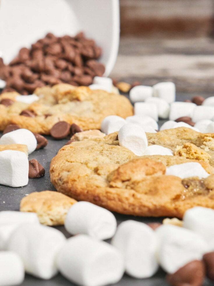 Gooey S'mores Cookies
