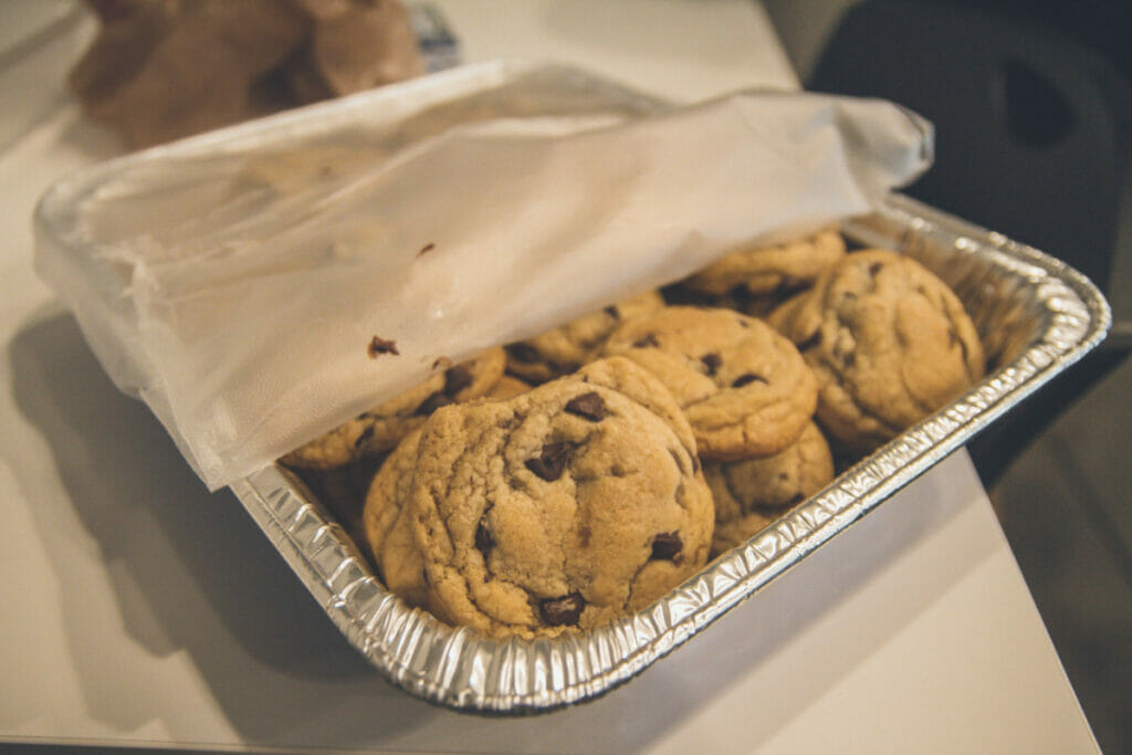 cookies in airtight container